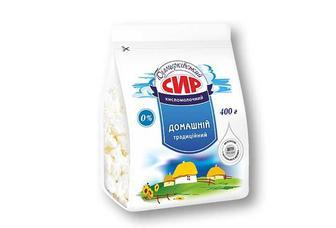 Сир кисломолочний 0% Білоцерківський 400 г