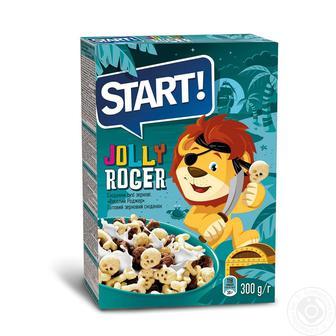 Готовий зерновий сніданок Start Веселий Родже 300г
