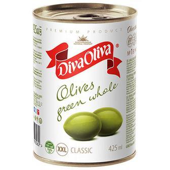 Оливки Diva Oliva зелені 425мл