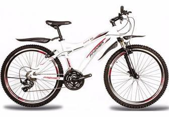 "Велосипед Premier Bandit 3 17"" белый с красн-черн"