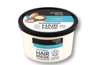 Маска для волосся Moroccan Argan&Amla з аргановою олією та екстрактом плодів амли Organic Shop 250 мл