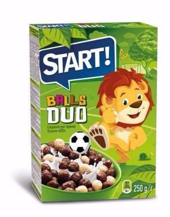 Сухий сніданок  Balls DUO Старт 250г