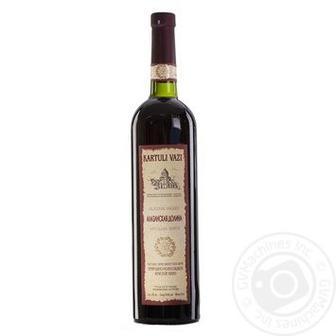 Вино Алазанська Долина біле н/сол. або Сапераві червоне сухе Картулівазі 0,75 л
