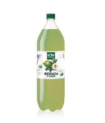 Напій соковмісний Манго, Вишневий, Фейхоа з соком  Бон Буасон, 2 л