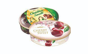 Цукерки Черрі Світ вишня, шоколадні Натс Голд Магнат 143 г, 147 г