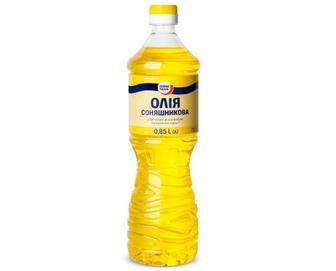 Олія соняшникова рафінована «Повна Чаша»® 0,85л
