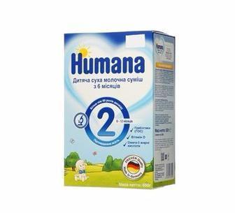 Суха дитяча суміш Humana 600г