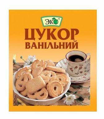 Приправа сахар ванильный Эко, 10г