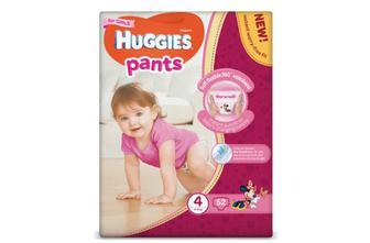 Підгузки-трусики Huggies Pants для дівчаток 4 (9-14 кг) 52 шт./уп