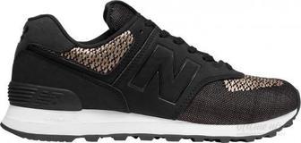 Кросівки New Balance WL574FAA р.8,5 чорний