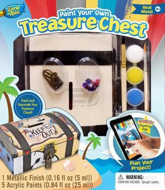 Іграшковий набір для творчості Masterpieces Скриня скарбів 21412