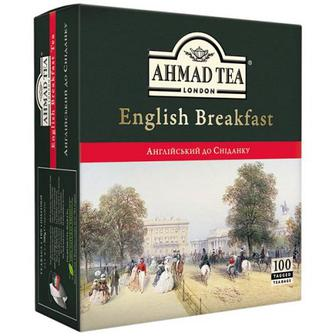 Чай Ahmad English Breakfast 100шт