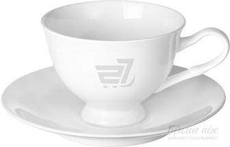 Чашка з блюдцем Classic 200 мл біла