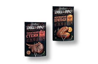 Припрaвa «GRILL & BBQ» Mексикaнські крильця/ Техaський стейк Припрaвкa 30 г