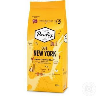 Кава мелена Paulig Cafe New York 250г