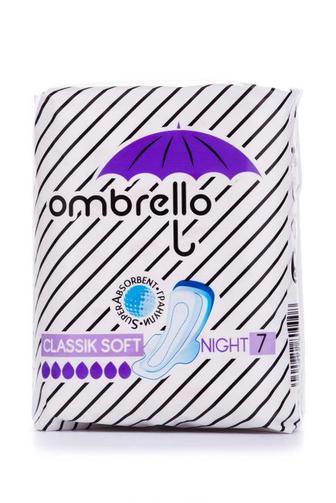 Прокладки критические Ombrello Классик Найт софт 7шт