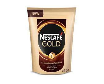 Кофе Nescafe Gold Nestle, 60г