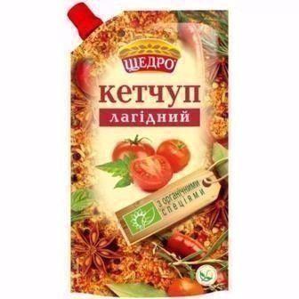 Кетчуп Лагідний Щедро 300г
