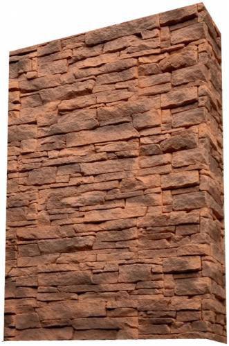Плитка бетонна пряма Живий камінь Американа 20 0,5 кв.м