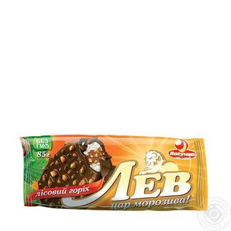 Морозиво Ласунка Лев Ванільно-горіхове 85г