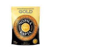 Кава розчинна Gold, Чорна Карта, 190г