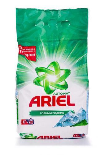 Стиральный порошок ARIEL автомат Горный источник, 3кг