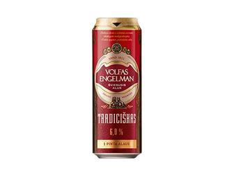 Пиво 6% Volfas Engelman Tradiciskas 0,5л