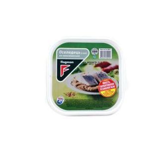 Скумбрия, сельдь филе-кусочки в масле Флагман 200 г