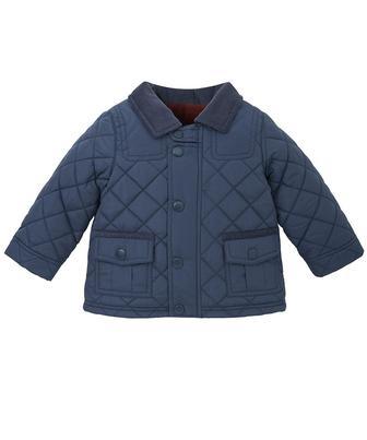 Демісезонна куртка синього кольору від Mothercare