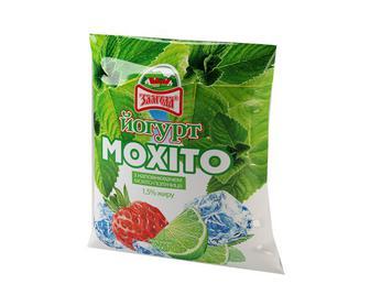 Йогурт Злагода Мохіто-Полуниця 1,5% 400г