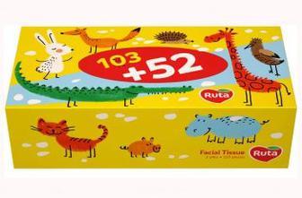 Салфетки Ruta Kids, 155 шт