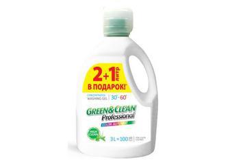 Green&Clean Professional гель для прання кольорової білизни, 3 л