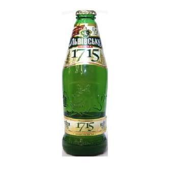 Пиво 1715 Львівське 0.45 л