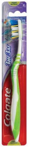 Зубна щітка Colgate Zig zag Plus середньої жорсткості