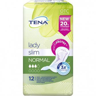 Урологические прокладки Tena Lady Slim Normal, 12 шт