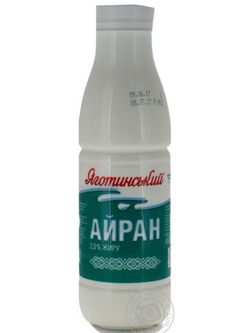 Айран Напиток кисломолочный, Яготинський 2% 450г