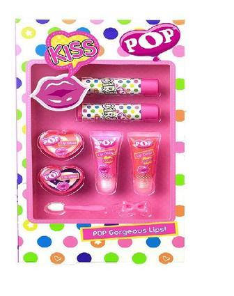 Набор блесков для губ Markwins Pop Райский сад