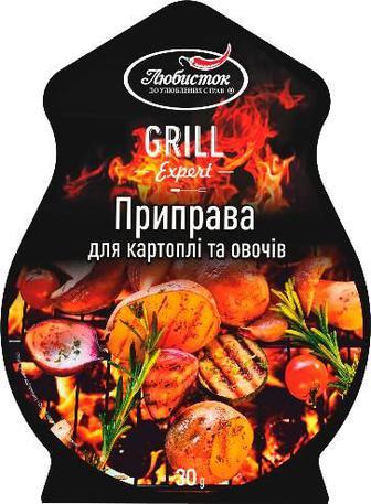 Припр до картоп та овоч Любисток Гриль Експерт 30г