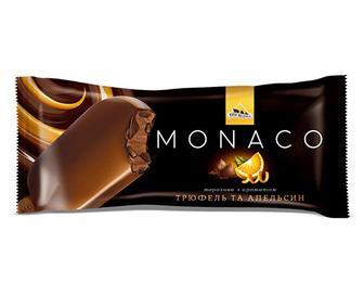 Морозиво «Три Ведмеді» Monaco трюфель та апельсин, 80г