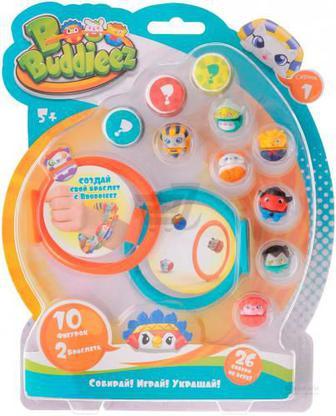Ігровий набір Bbuddieez із 10 фігурками та 2 браслетами 15005