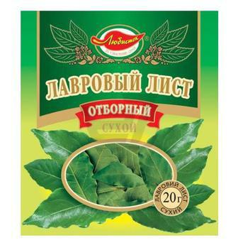 Лавровый лист ЛЮБИСТОК 10 г