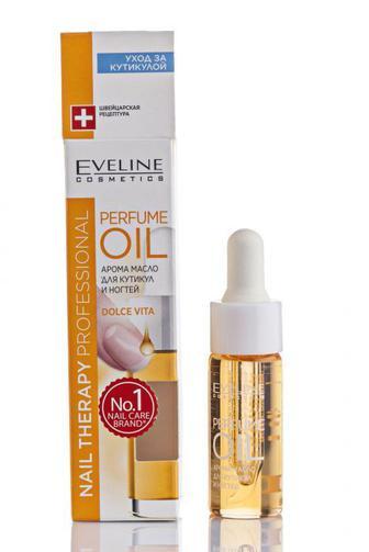 Арома масло для кутикул и ногтей Eveline Nail Therapy Professional Perfume Oil Dolce Vita , 12мл