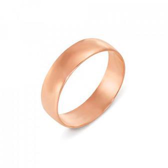 Обручальное кольцо классическое. Артикул 1001/6