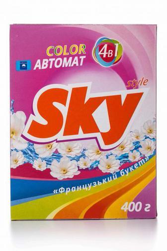 Стиральный порошок Sky Style автомат Колор, 400г