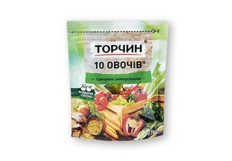 Приправа 10 ОВОЧIВ універсальна Торчин 170 г