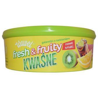 Конфеты желейные, Wawel с фруктовой начинкой, 800г