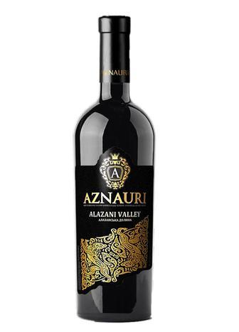 Вино Азнаурі Алазанська долина черв.н /сол0,75л