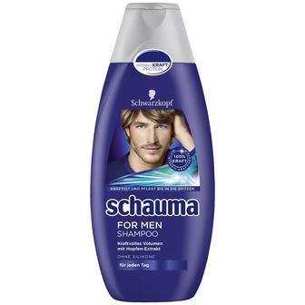 Шампунь для мужчин, Schauma, 400мл