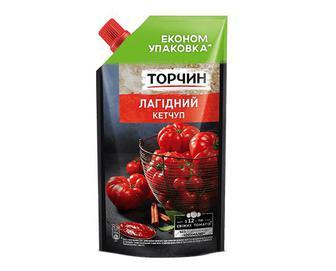 Кетчуп «Торчин» лагідний, 400г