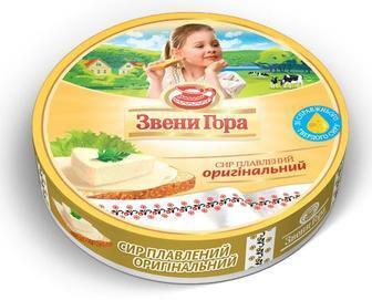 Сыр плавленый порционный Звени Гора, 140 г